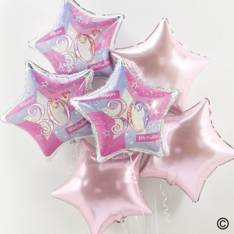 30th Birthday Balloon Bouquet