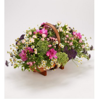 Country Garden Basket