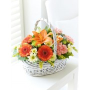 Beautiful Basket - Orange