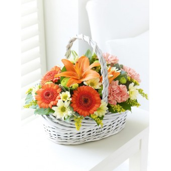 Beautiful Basket - Orange