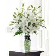 Luxury Oriental lily vase