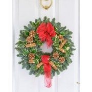 Traditional Xmas Door Wreath